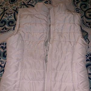 White Aeropostale vest